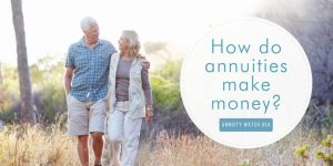 how do annuities make money