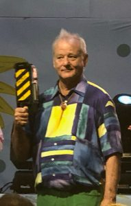 bill murray with a movie prop