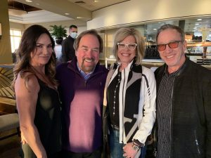 tim allen and richard karn with cathy dunn